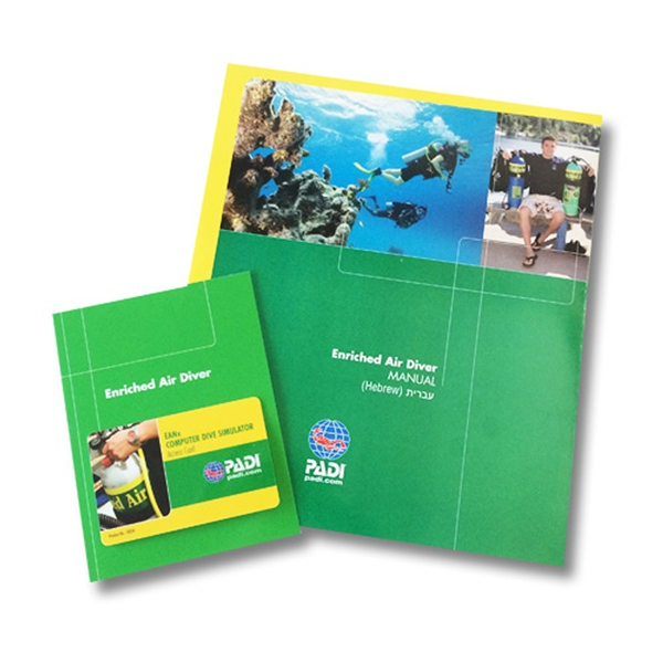 PADI - Crewpak Enriched Air Diver, with DVD, Computer Use German