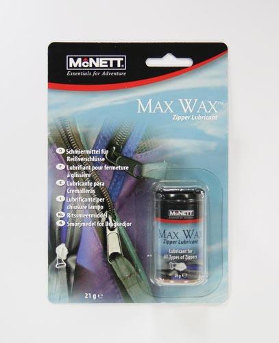 McNETT - Max Wax Wachsstift für Reißverschlüsse 20g