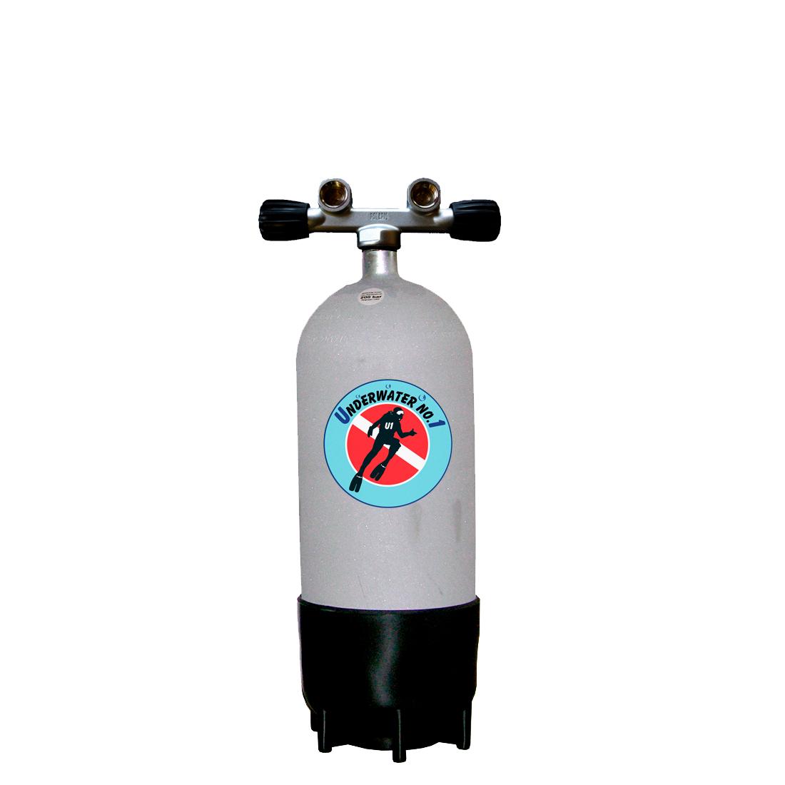 FABER - Tauchgerät 200Bar SteelBeast Twinventil 12944