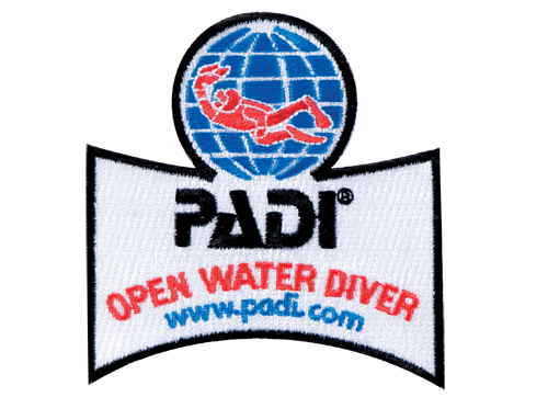 PADI - Emblem Open Water Diver