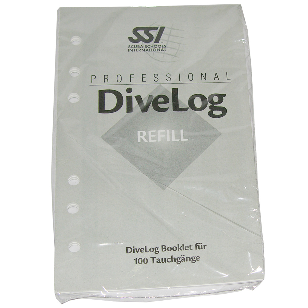 SSI - Professional Log-Booklet Refill (100TG)