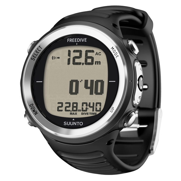 SUUNTO - D4f all black mit Armband Tauchcomputer