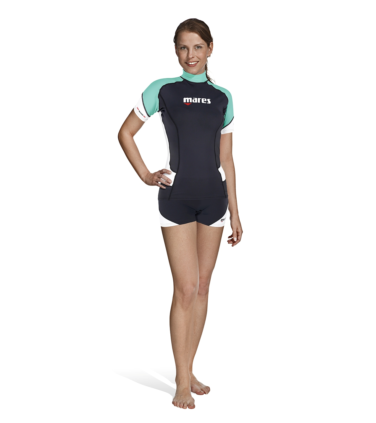 MARES - Rash Guard Shorts SheDives Damen