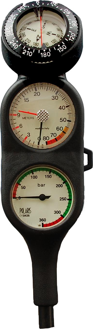 POLARIS - TOPLINE Dreierkonsole Fini Tiefe Kompass