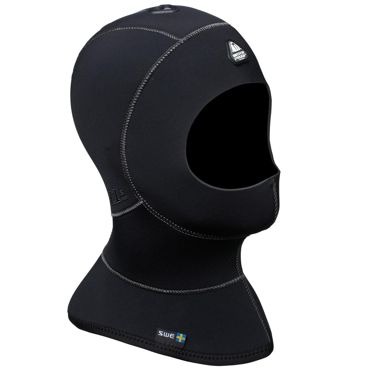 WATERPROOF - H1 Hood 3/5mm mit Kragen