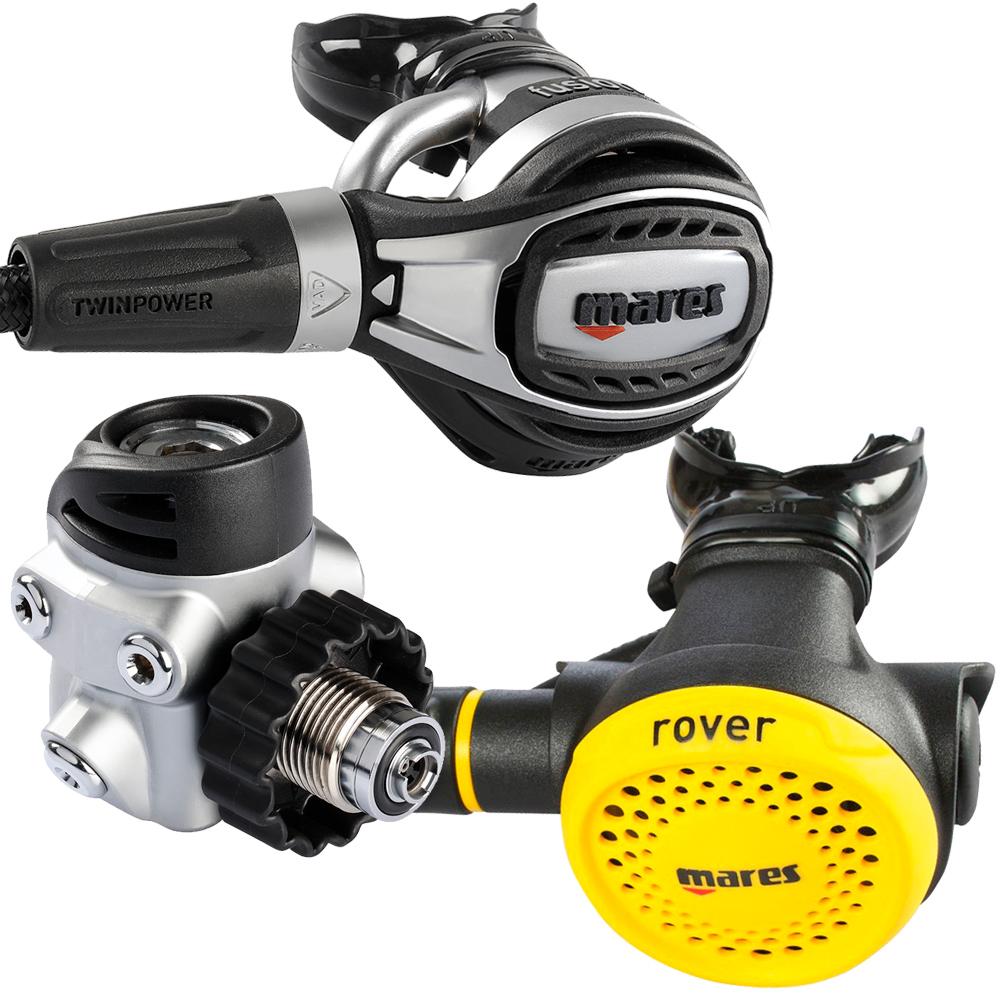 MARES - Fusion 72X mit Rover Octopus Atemregler Set