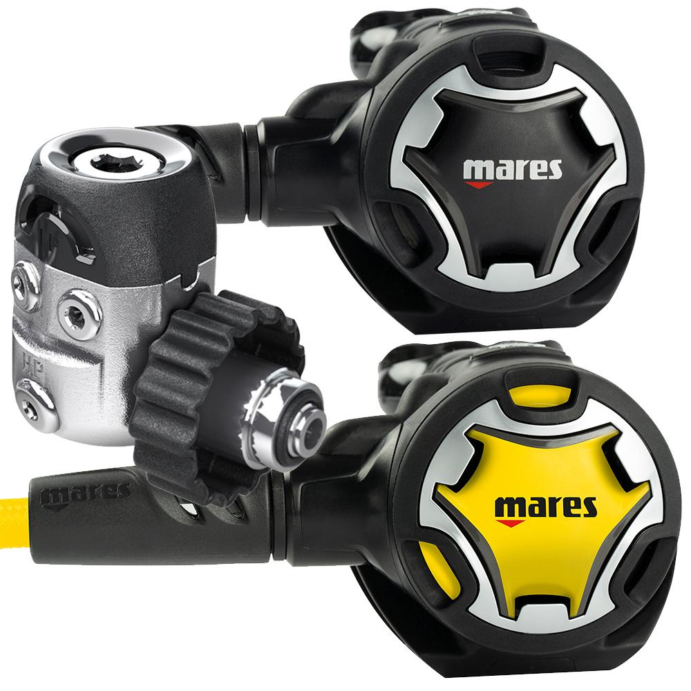 MARES - Dual 15X mit Dual Octopus Atemregler Set
