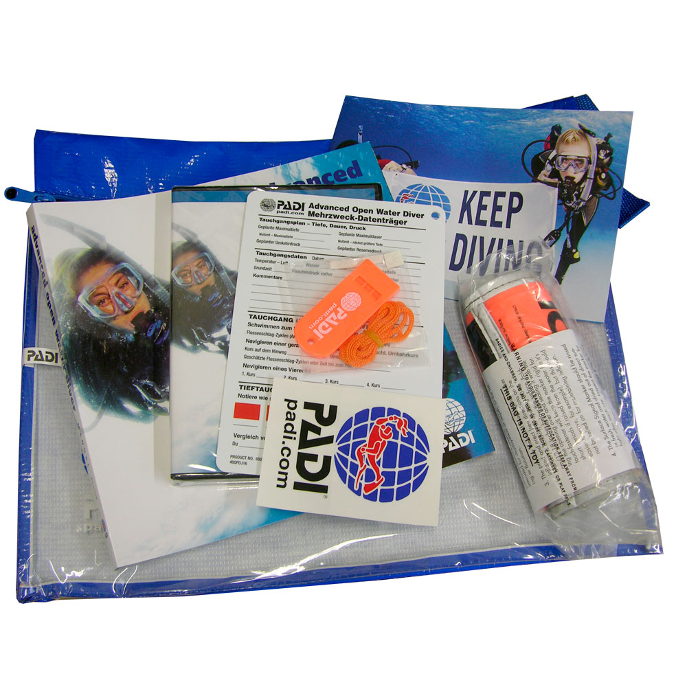 PADI - Crewpak Advanced Open Water Ultimate German