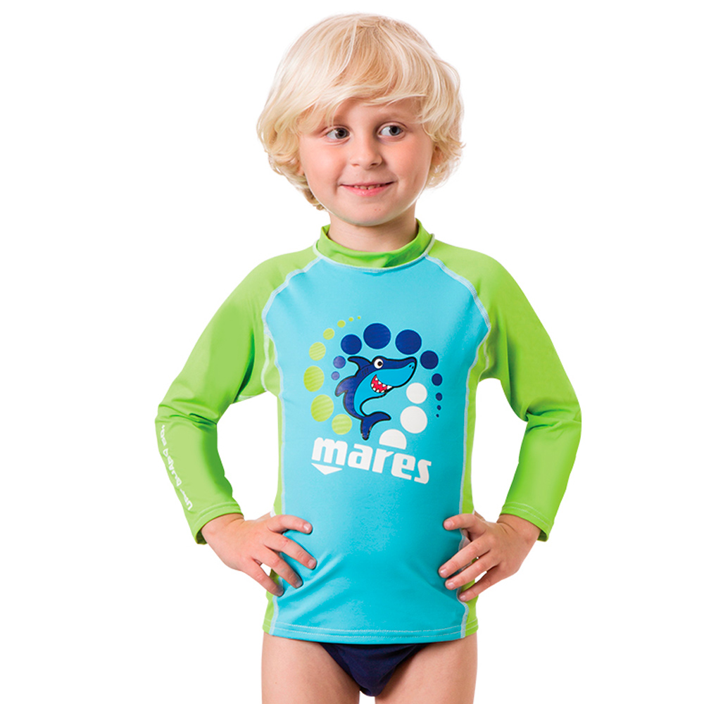 MARES - Rash Guard Kids Long Sleeve Junge