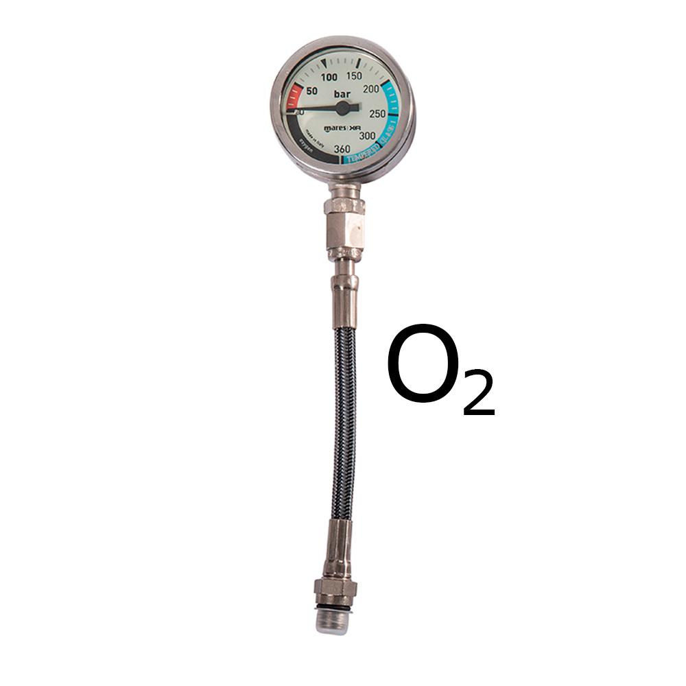 MARES XR - Finimeter SPG52 - 15cm O2