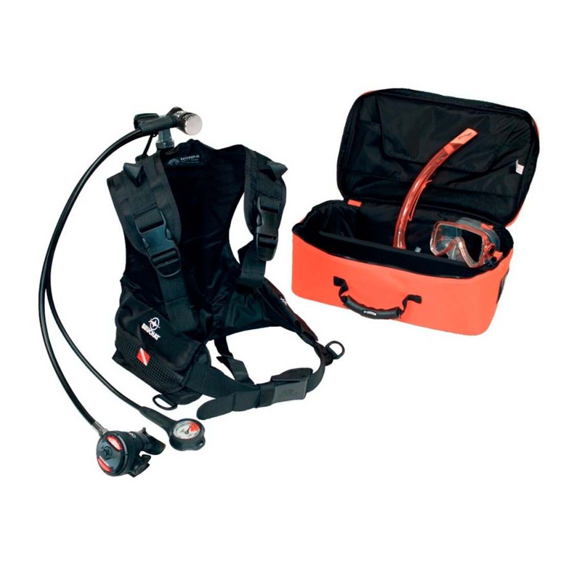 BEUCHAT - Boot Kit / Boardtauchgerät Atemregler-Set