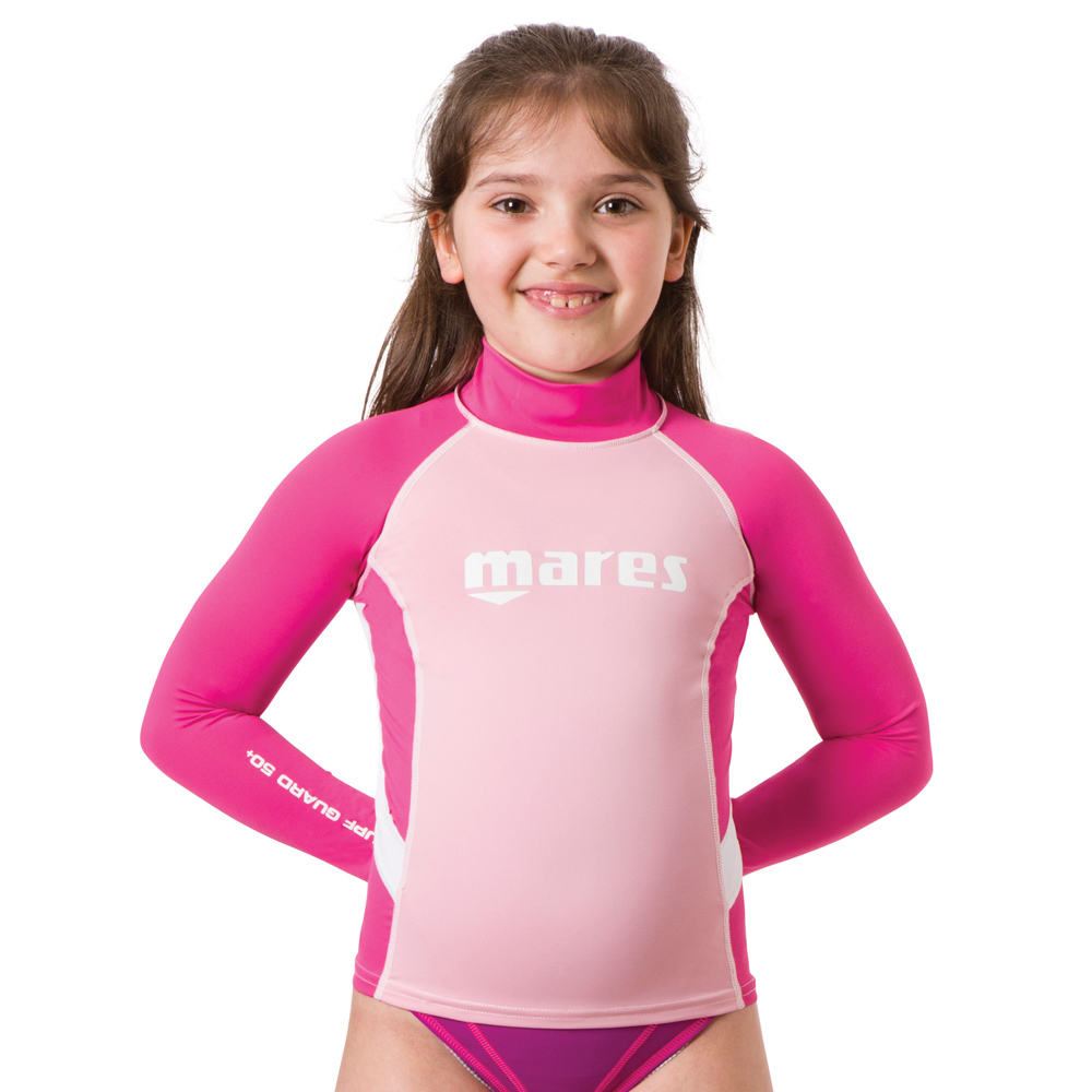 MARES - Rash Guard Junior Long Sleeve Mädchen