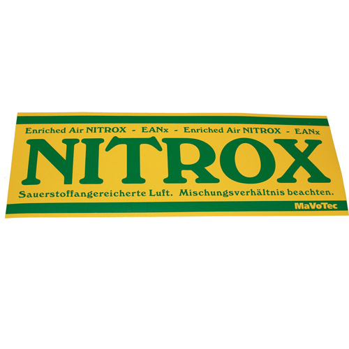 Polaris - Aufkleber Nitrox, Argon, Trimix, Voodoo