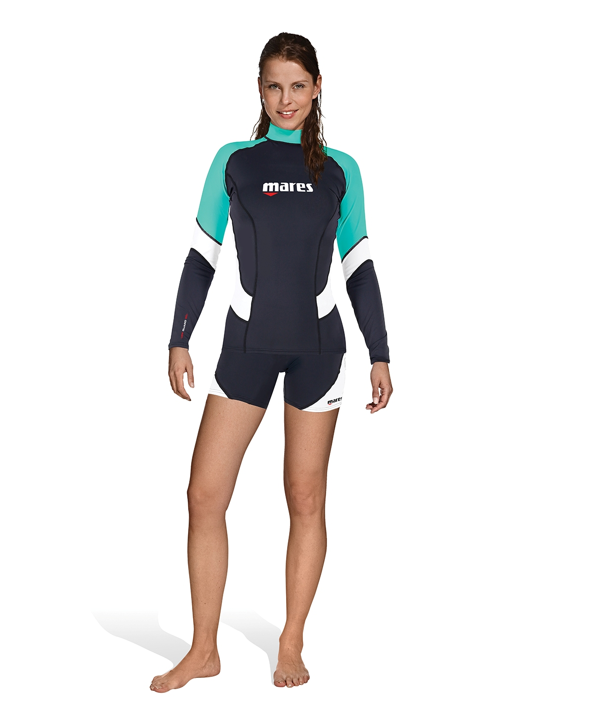 MARES - Rash Guard Long Sleeve SheDives Damen