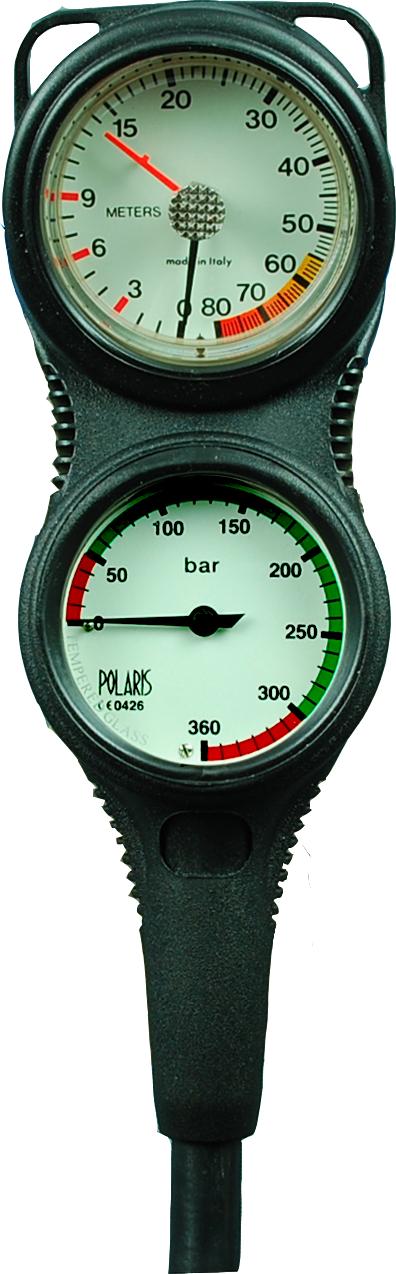 POLARIS - TOPLINE Zweierkonsole Finimeter mit Tiefenmesser
