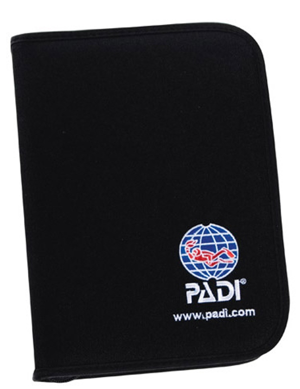 PADI - Binder AdventureLog Nylon Fabric Black Logbuch tauchen