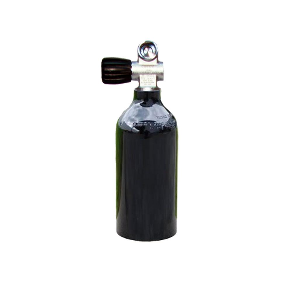 MES - Tauchgerät 2L 200Bar Aluflasche ohne/mit Ventil