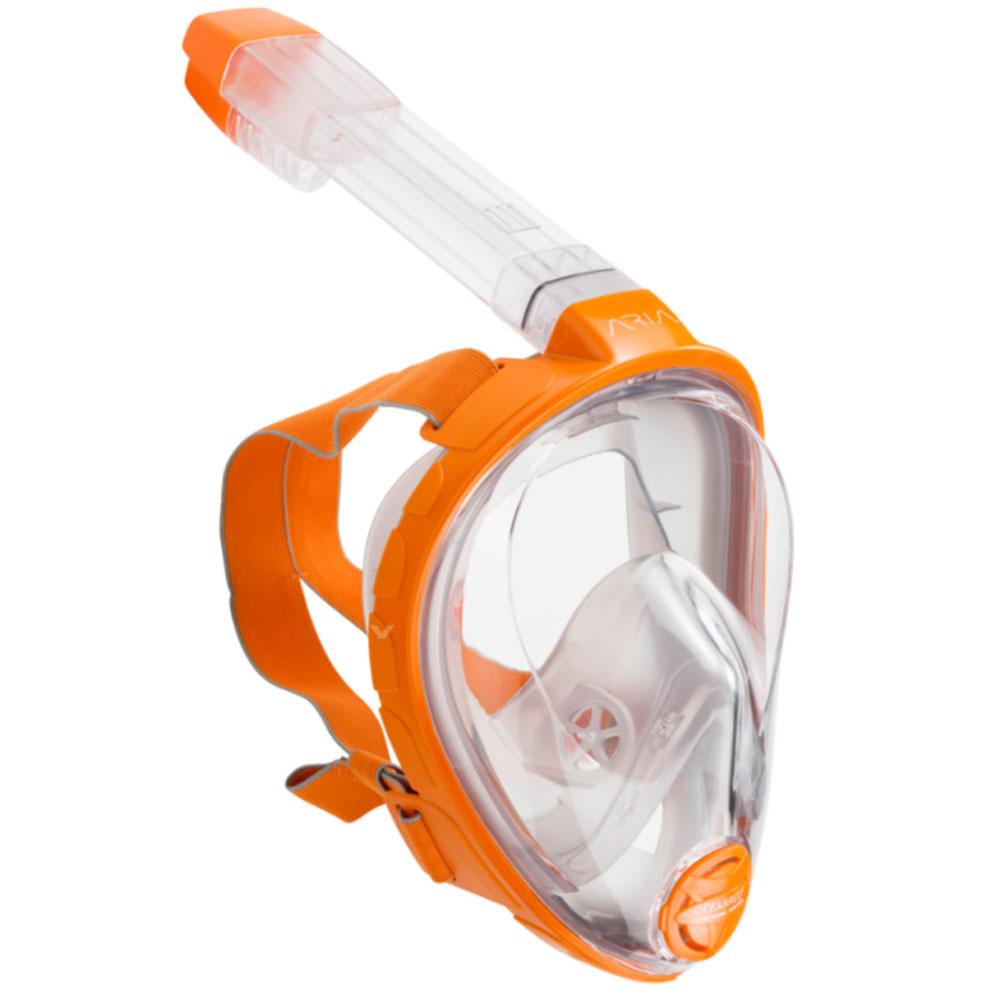 OCEANREEF - Aria Vollgesichts-Schnorchelmaske Orange