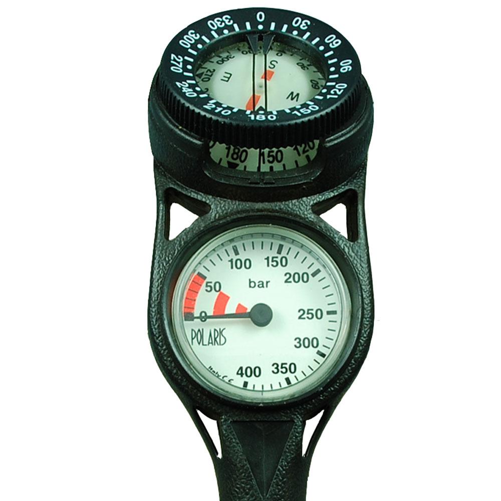 POLARIS - SLIMLINE Zweierkonsole Finimeter mit Kompass