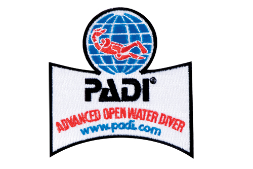 PADI - Emblem Advanced Open Water Diver