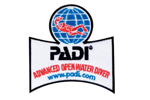 PADI - Emblem Advanced Open Water Diver