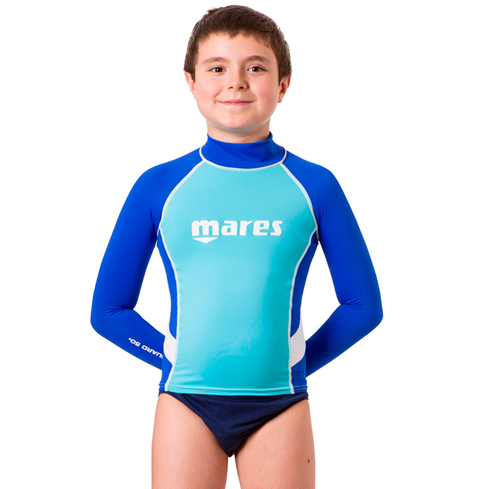 MARES - Rash Guard Junior Long Sleeve Junge