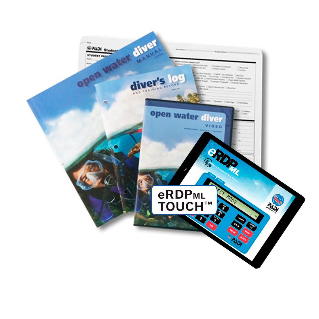PADI - Crewpak OpenWater Ultimate with eRDPML Online German