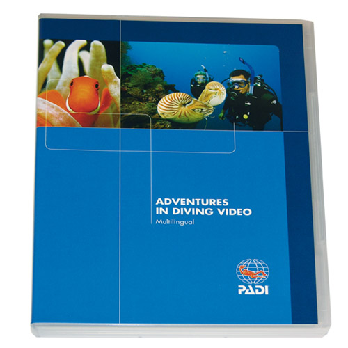 PADI - DVD Adventures in Diving, Diver Edition (DU/G/S/E/F)
