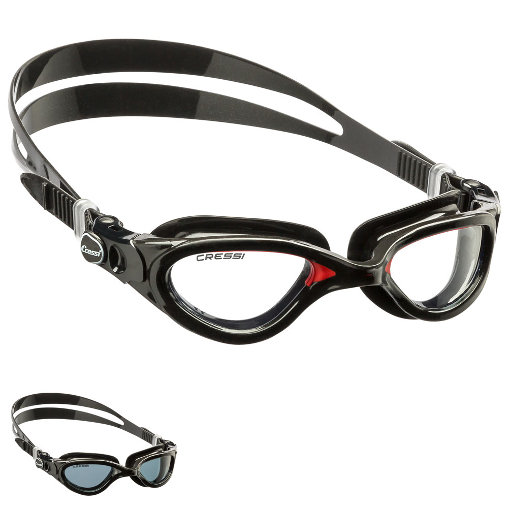 CRESSI - Flash Dark Schwimmbrille
