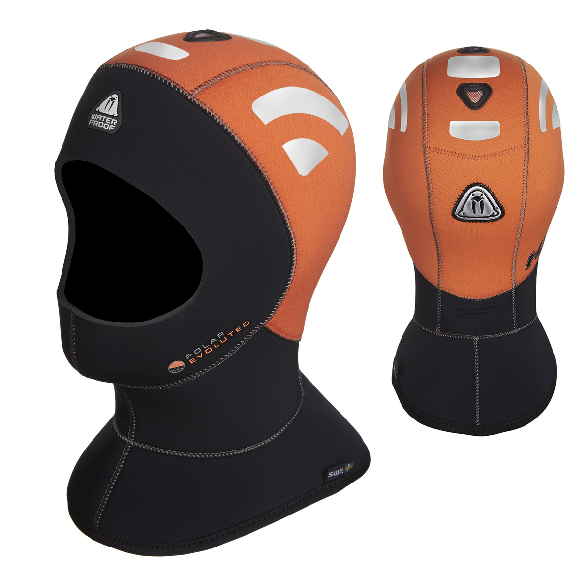 WATERPROOF - H1 Hood 5/10mm High Visibility Polar Evoluted