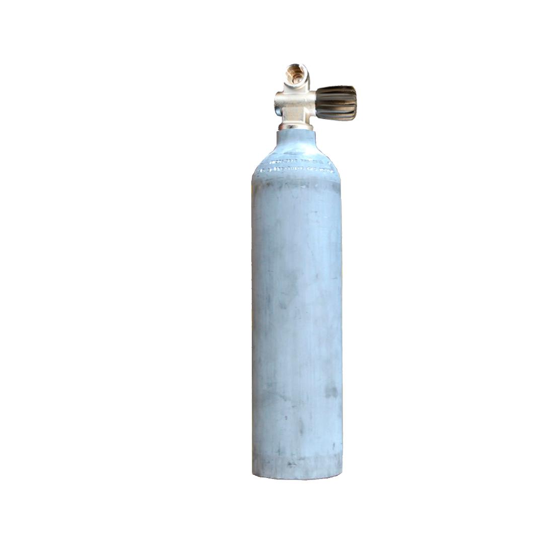MES - Tauchgerät 3L 200Bar Aluflasche ohne/mit Ventil
