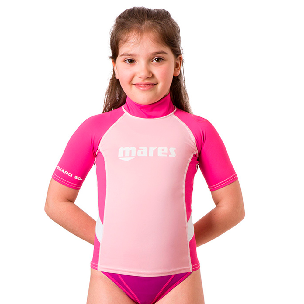 MARES - Rash Guard Junior Short Sleeve Mädchen