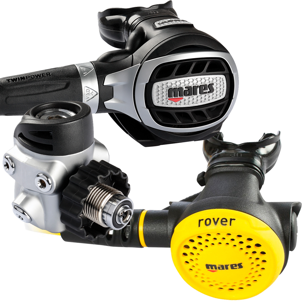 MARES - Ultra 72X mit Rover Octopus Atemregler Set