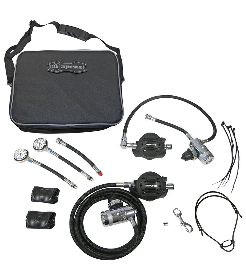 APEKS - XTX50 Sidemount Atemregler-Set
