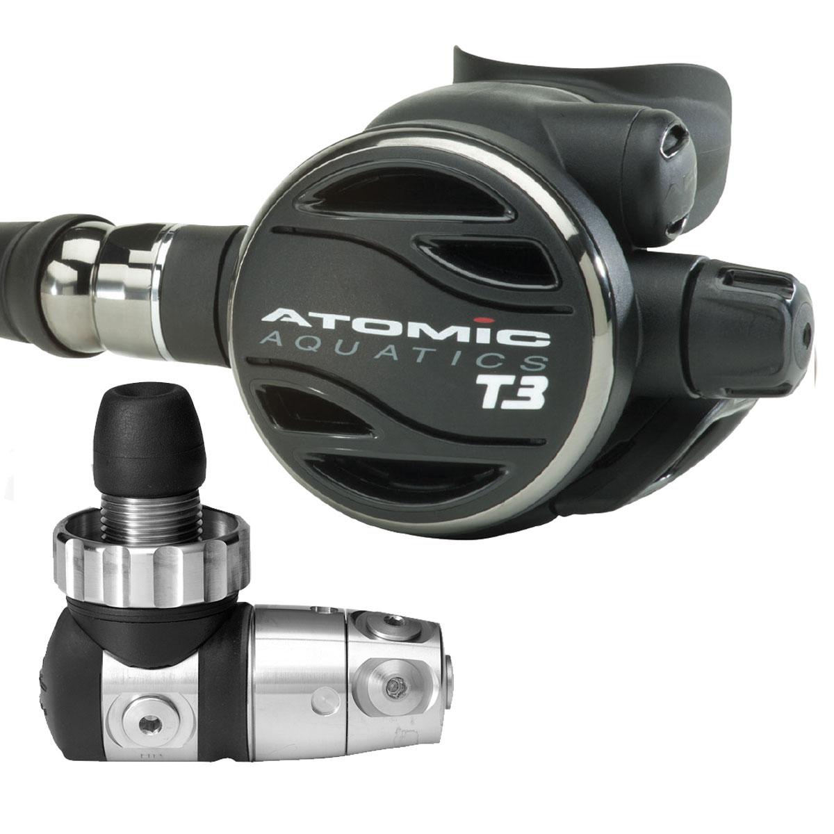 ATOMIC - T3 Titanium DIN Atemregler