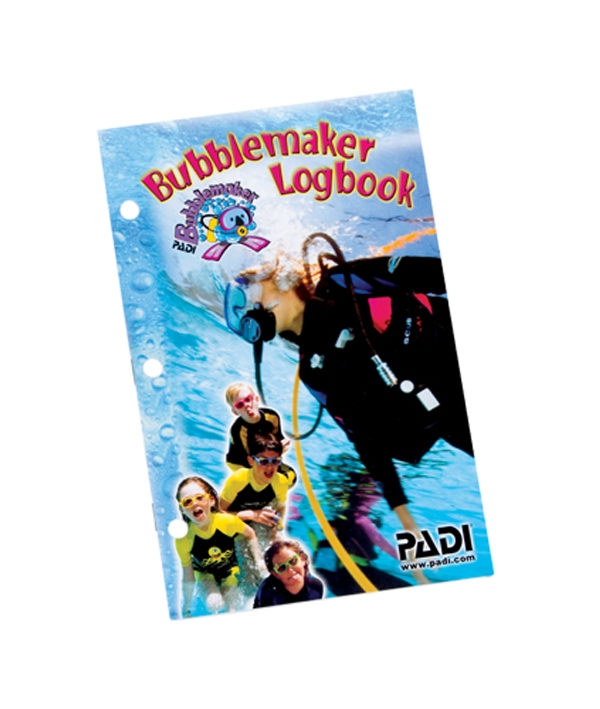 PADI - Logbook Bubblemaker German