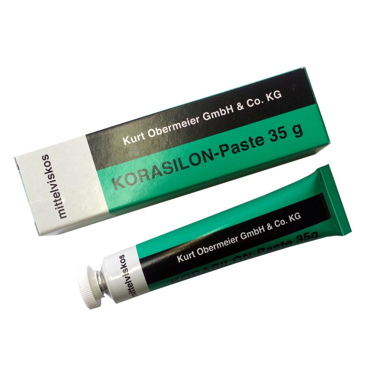 OBERMEIER - Korasilon-Paste mittelviskos 35 g Silikonschmiermittel