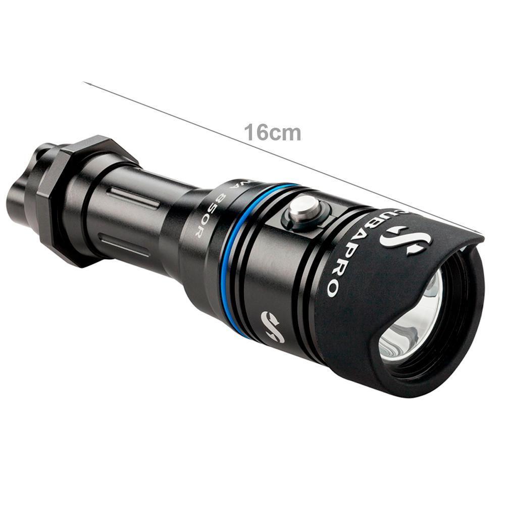SCUBAPRO - Nova 850R Tauchlampe
