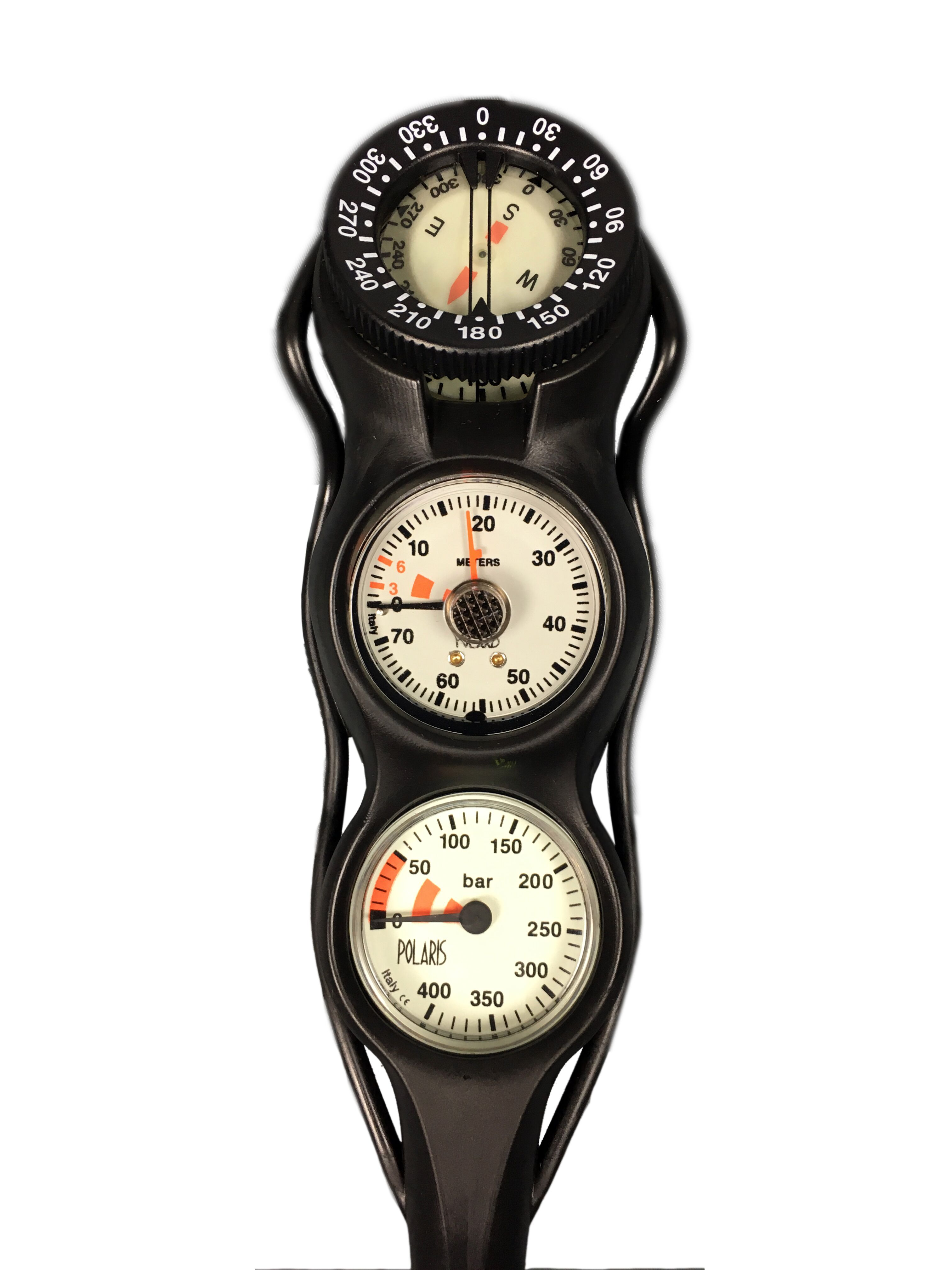 POLARIS - SLIMLINE Dreierkonsole Fini Tiefe Kompass