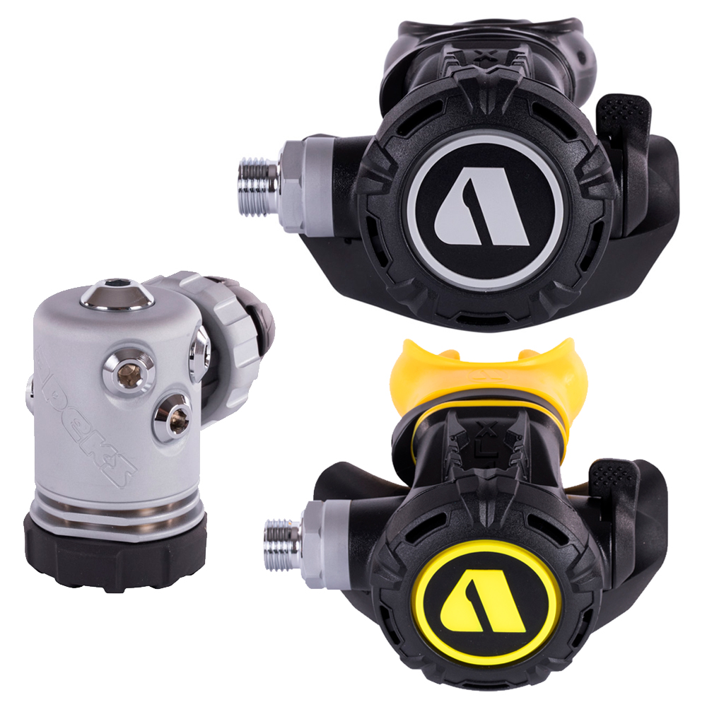 APEKS - XL4 Atemregler Set DIN 3Stufig