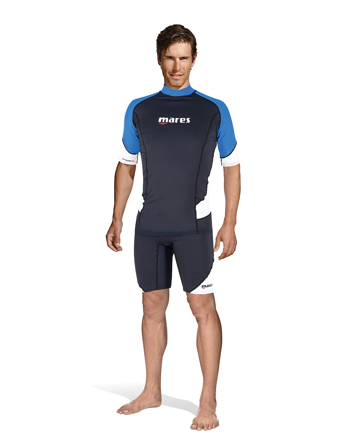 MARES - Rash Guard Short Sleeve Herren