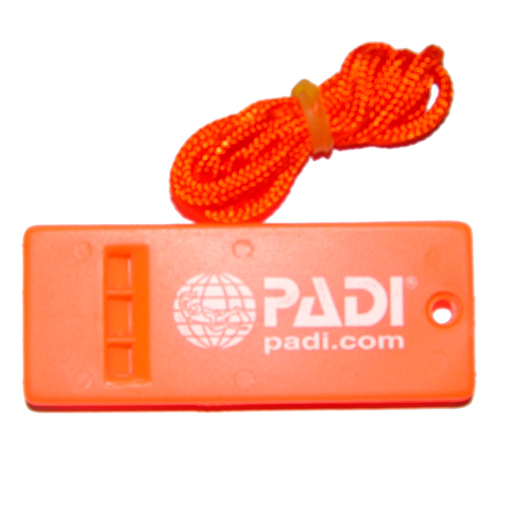 PADI - Whistle Emergency Signalpfeife