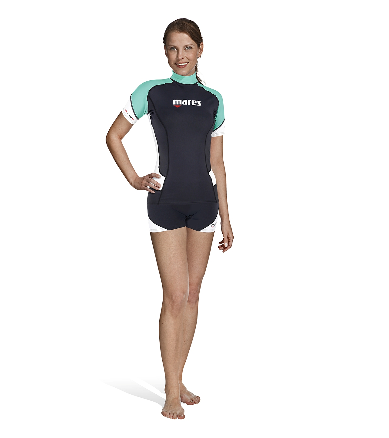 MARES - Rash Guard Short Sleeve SheDives Damen